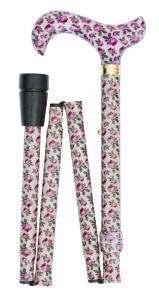 National Gallery Folding Derby Cane, Nattier's Rose