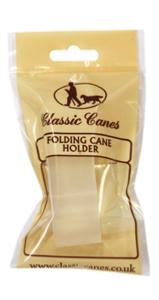Folding cane holder, individually packaged, Pk of 10