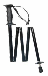 Folding Trekking Pole, <br>black