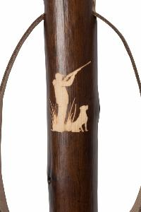 Chestnut Hiking Staff, <br>Shooting Motif